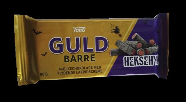 Guld Barre - Milchschokolade mit flüssiger Lakritzcreme