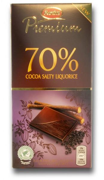 Marabou 70% Salty Liquorice