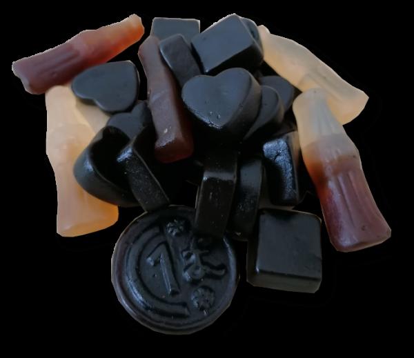 Lakritz&Cola-Mix (zuckerfrei)