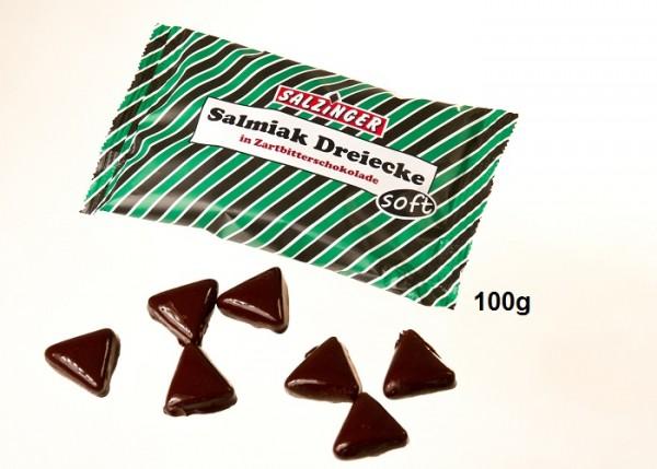Salmi-Dreiecke in Zartbitter-Schoko