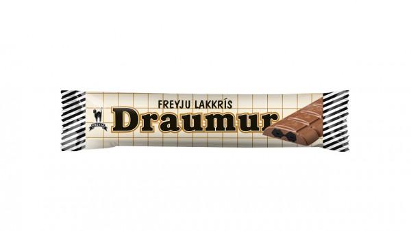 Draumur - Isländischer Schokoriegel mit Lakritz