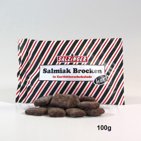 Salmi Brocken in Zartbitter-Schokolade