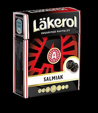 Läkerol Salmiak-Pastillen mit Stevia